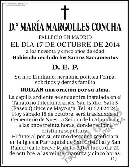 María Margolles Concha